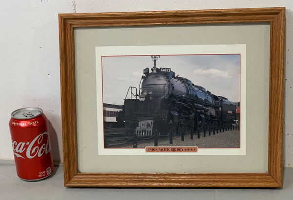 Framed Union Pacific