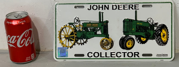 John Deere License Plate Cover
