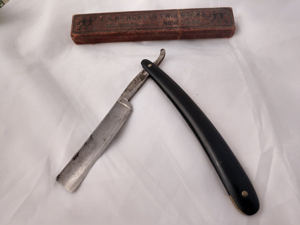 Antique Shaving Razor with Box