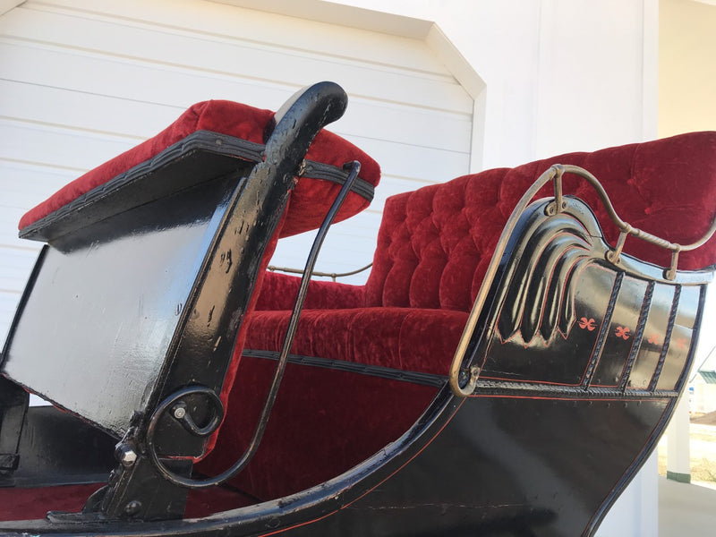 J.B. Armstrong Antique Sleigh