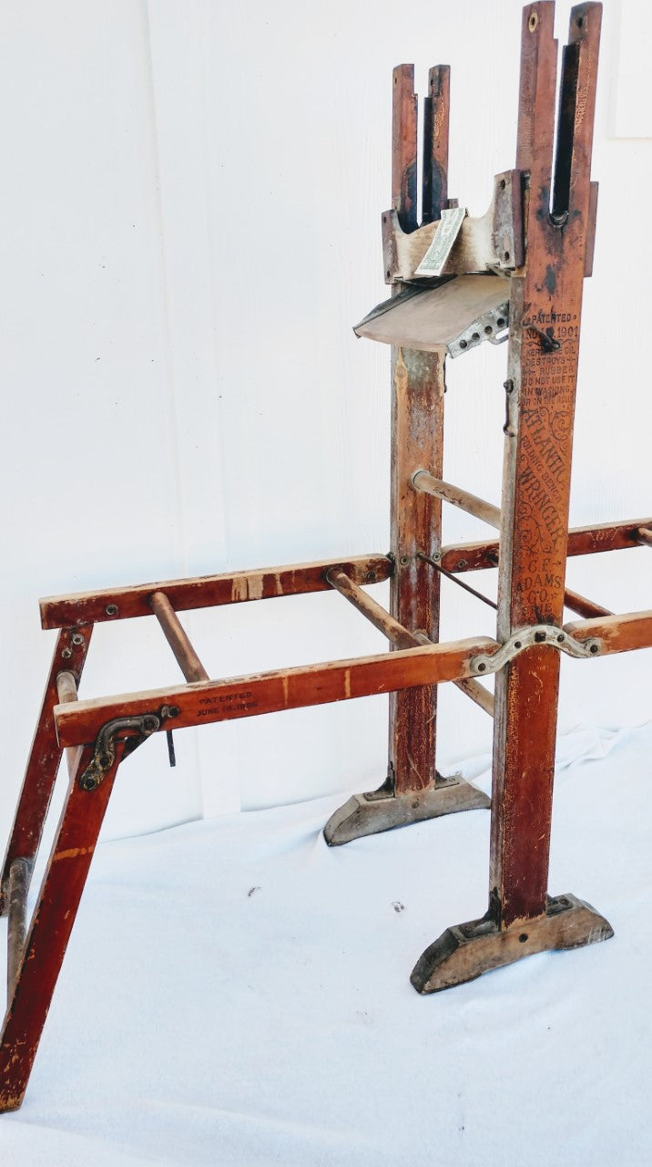 Antique Clothes Dryer Stand