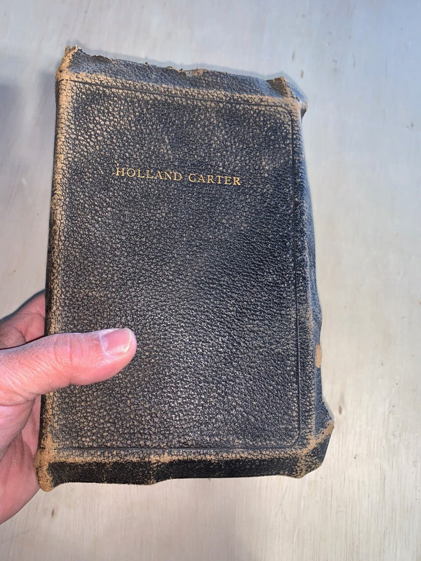 Holland Carter Holy Bible.
