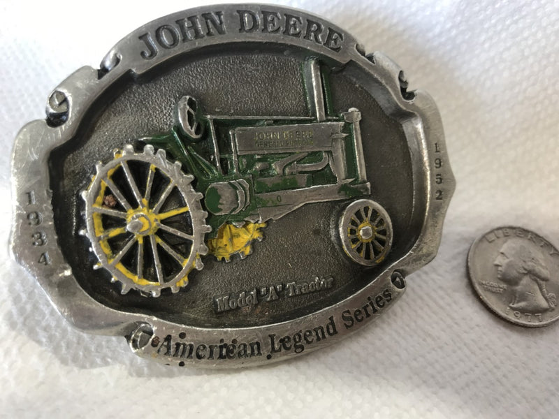 John Deere Model A Belt Buckle