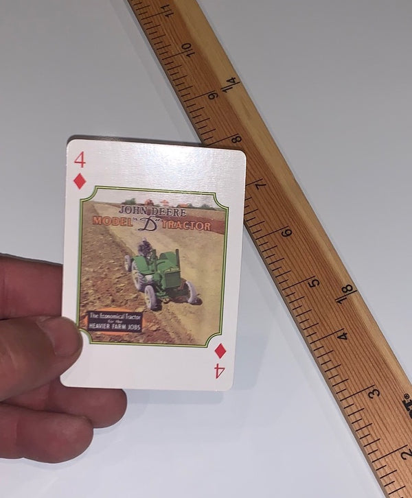 John Deere Playing Card