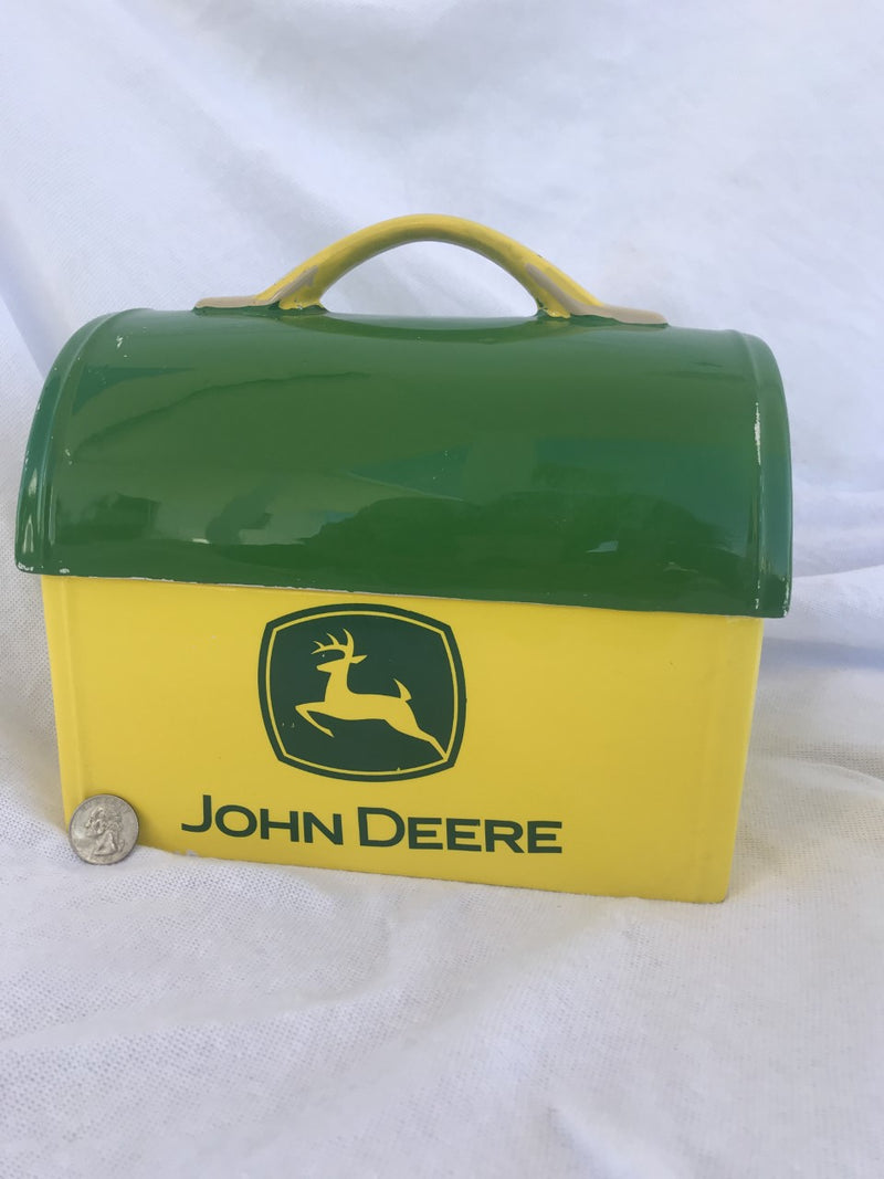 John Deere Ceramic Lunch Box