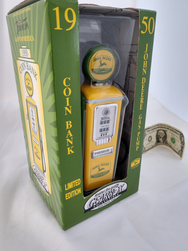 John Deere Coin Bank