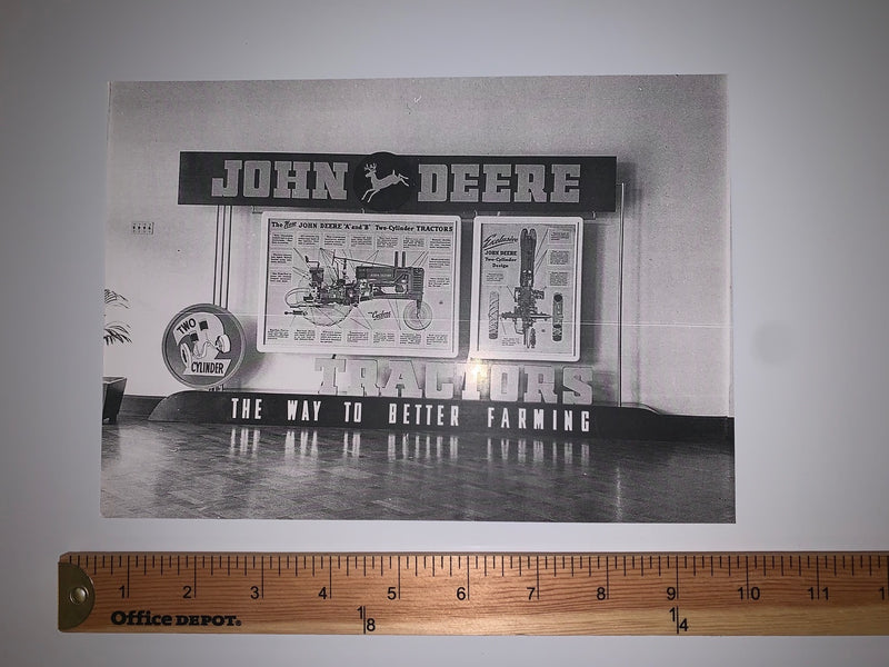 Original, Historic John Deere Photo