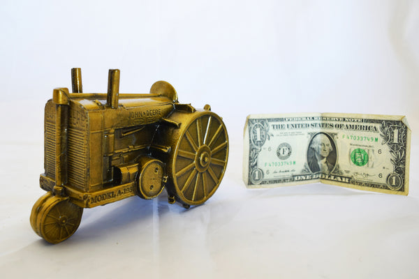 John Deere Model A Vintage Coin Bank