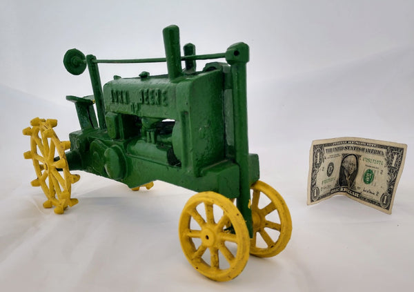 Antique John Deere Model A Toy Tractor