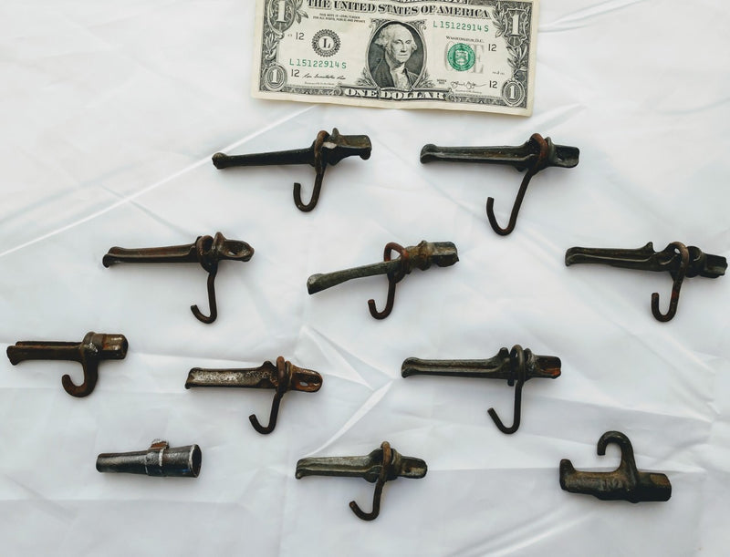 Collection of Antique Maple Taps