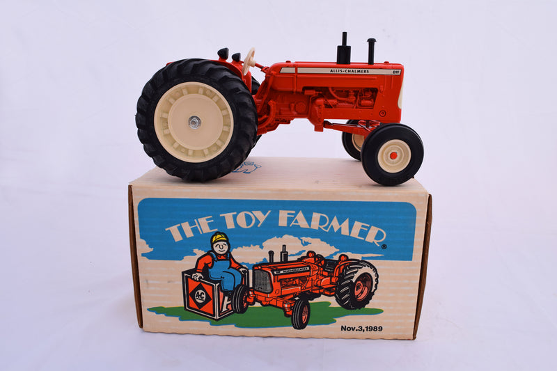 Vintage Allis-Chalmers Toy Tractor