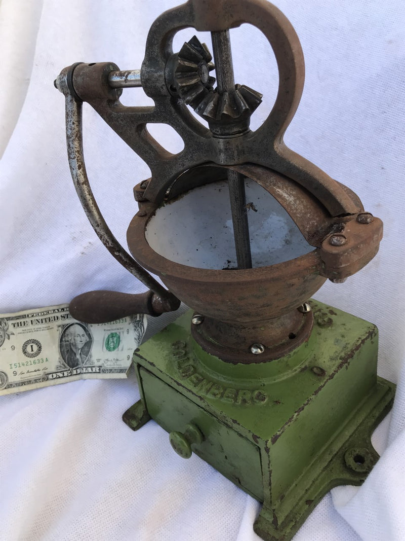 Goldenberg Antique Coffee Grinder