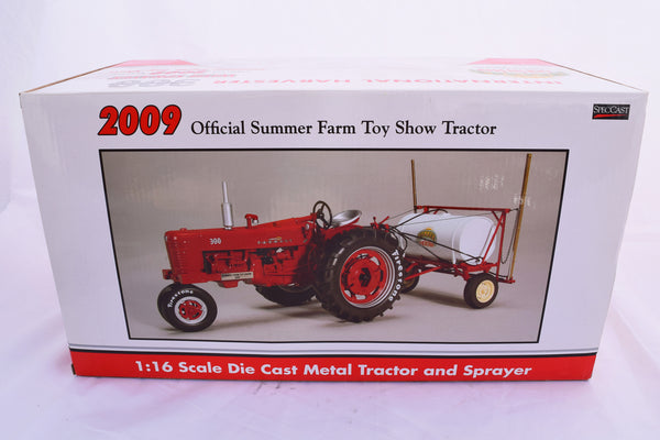 Vintage International Harvester 300 Toy Tractor and Sprayer