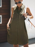 Chloebuy Summer Casual Sleeveless Dress