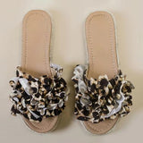 Chloebuy The Bermuda Leopard SandalS
