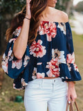 Chloebuy Spring Summer Off The Shoulder Blouse