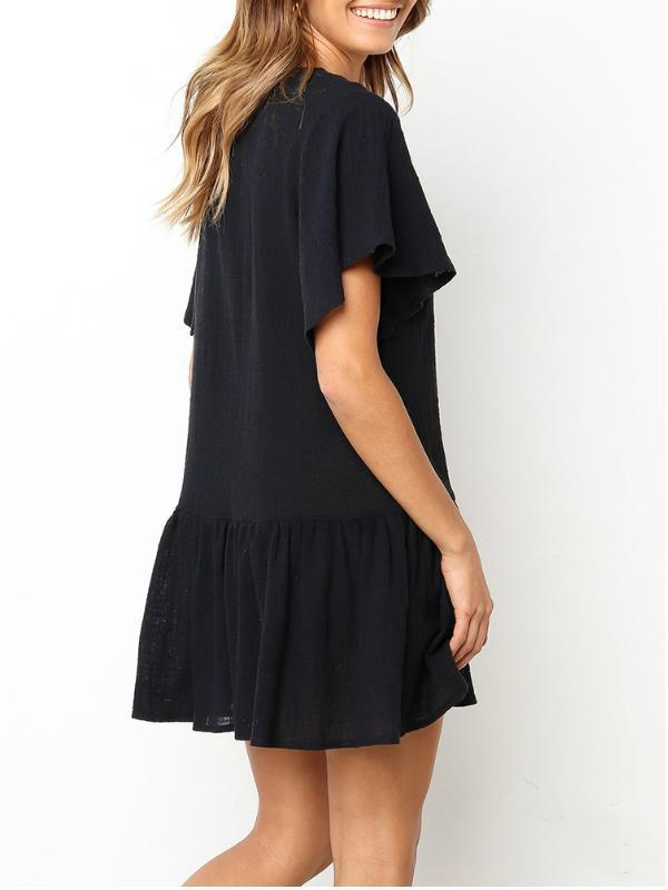 Chloebuy Women's T-Shirt Dress