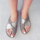 Chloebuy Vintage Summer Beach Casual Slippers