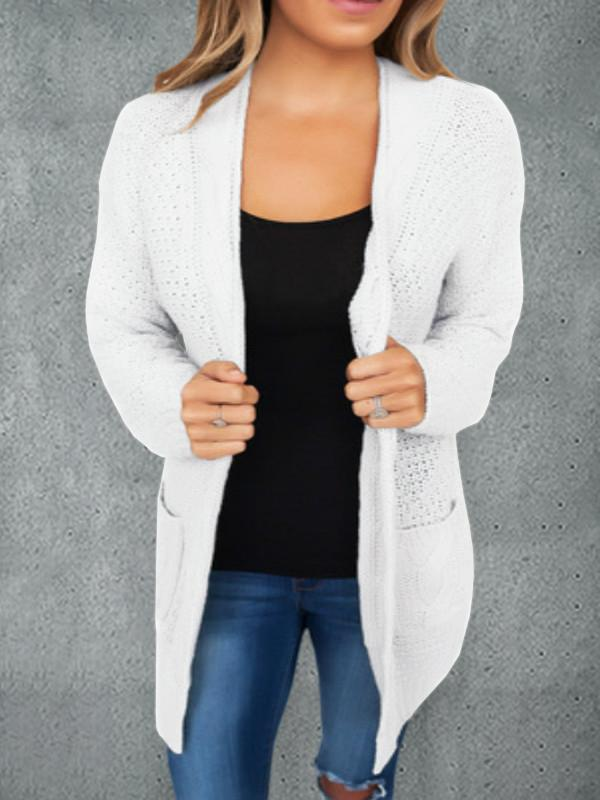 Chloebuy Casual Knitting Cardigan Coat