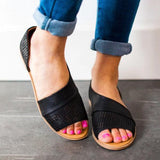 Chloebuy Women's Hollow Sandals