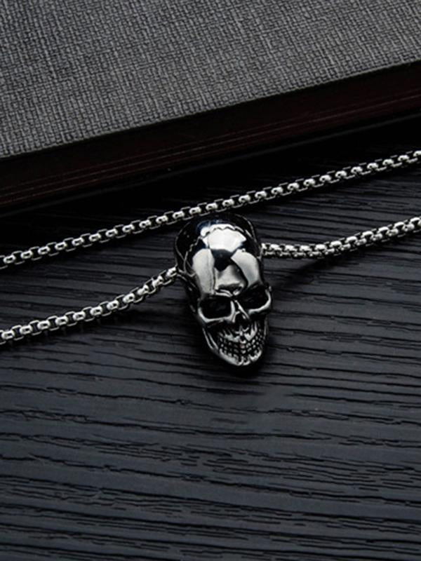 Chloebuy Skeleton Domineering Necklace