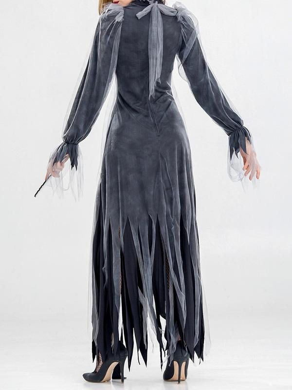 Chloebuy Horror Bride Zombie Vampire Demon Dress