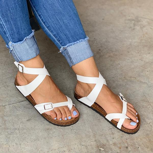 Chloebuy Women Hotsale Soft Summer Sandals