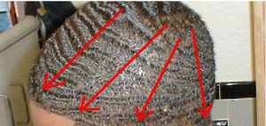 Wave Combing Pattern