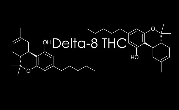 Outlawed!? No problem, Delta-8 THC to the Rescue! The new psychoactive fad in the CBD/Cannabis world