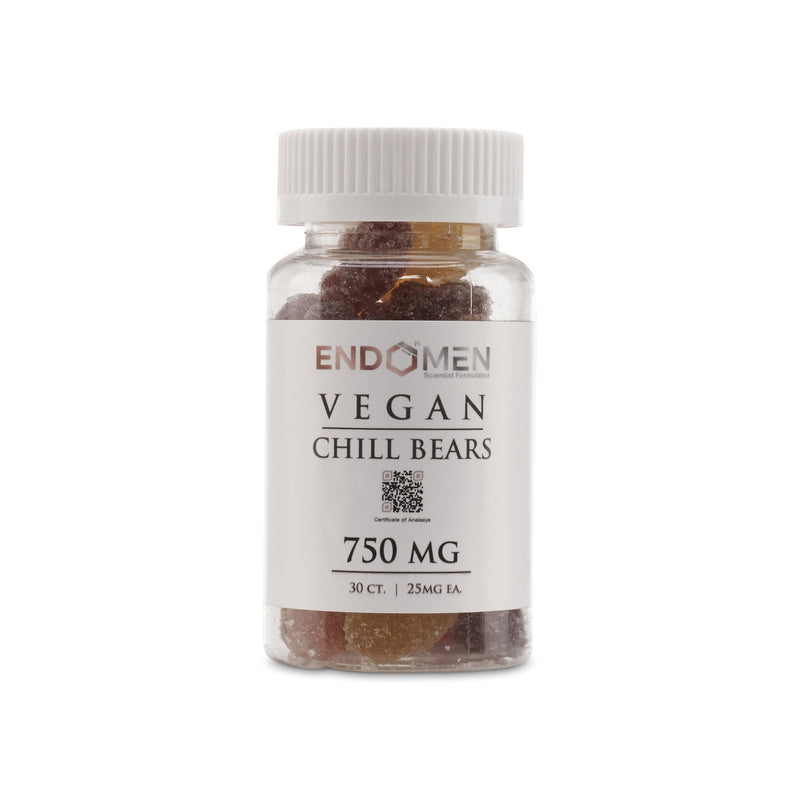EndoMen Vegan CBD Chill Bears 750mg
