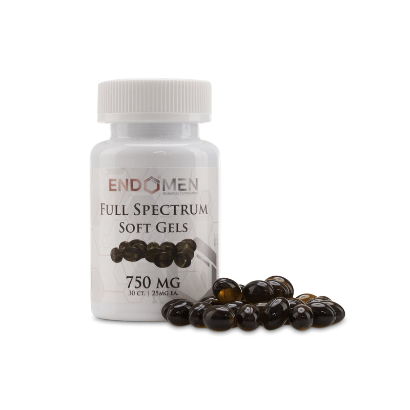EndoMen Full Spectrum CBD Gel Capsules 750mg