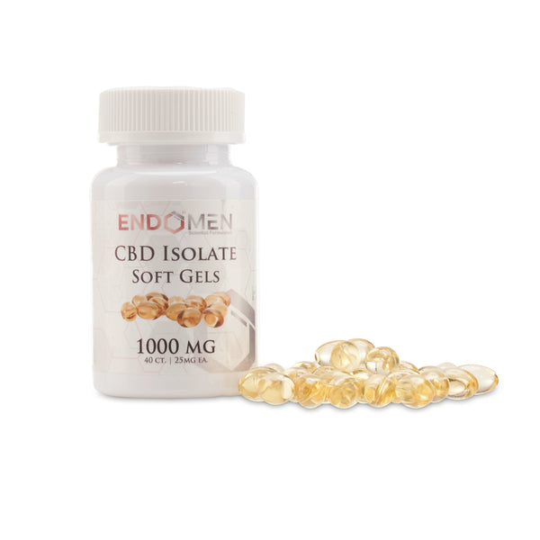EndoMen Isolate CBD Gel Capsules 1000mg