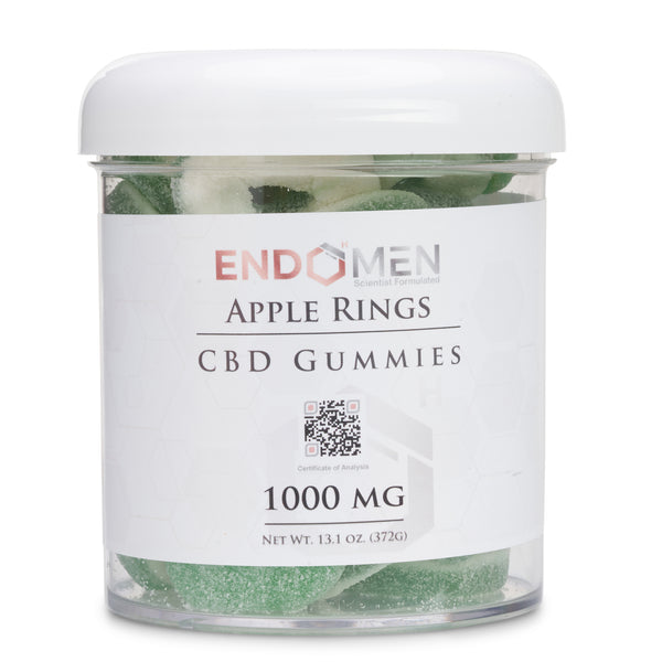 EndoMen CBD Apple Rings 1000mg