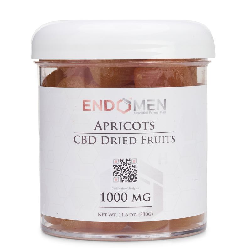 Hemp Derived CBD Whole Apricots 1000mg