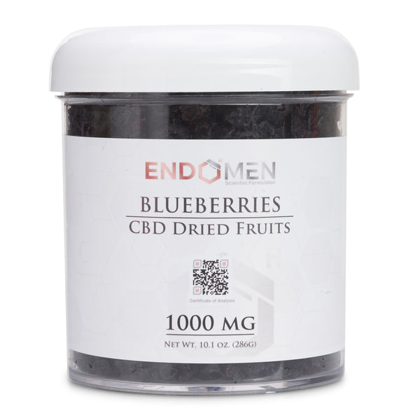 Hemp Derived CBD Blueberries 1000mg