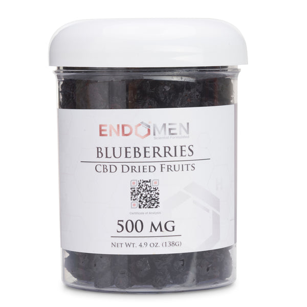 Hemp Derived CBD Blueberries 500mg