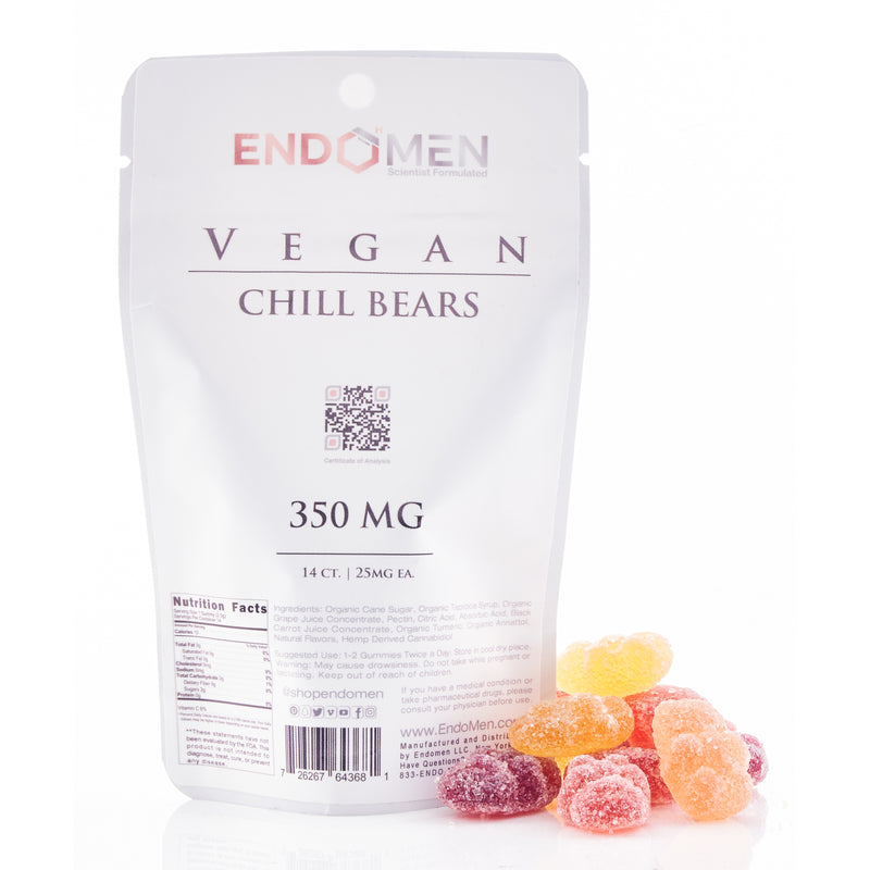 Vegan CBD Chill Bears 350mg