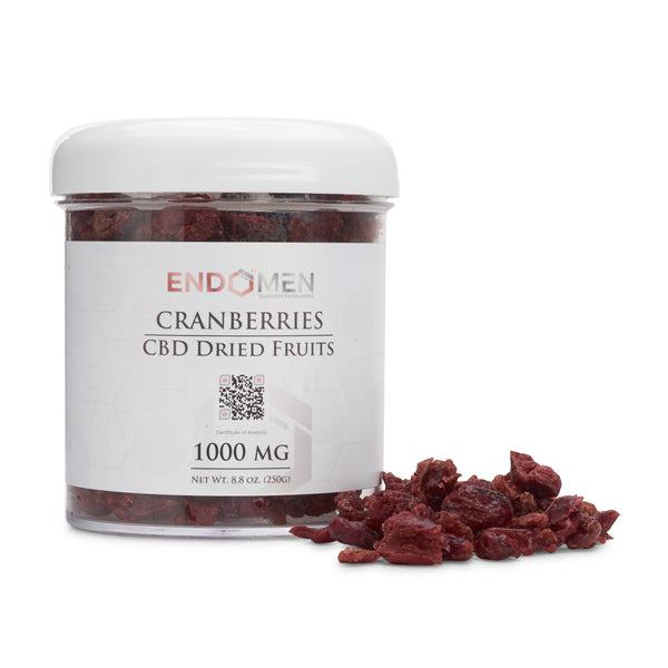 Hemp Derived CBD Cranberries 1000mg Wide
