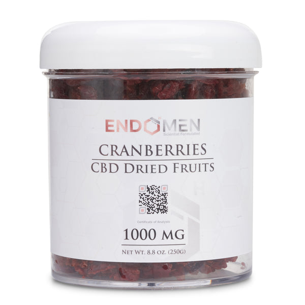 Hemp Derived CBD Cranberries 1000mg