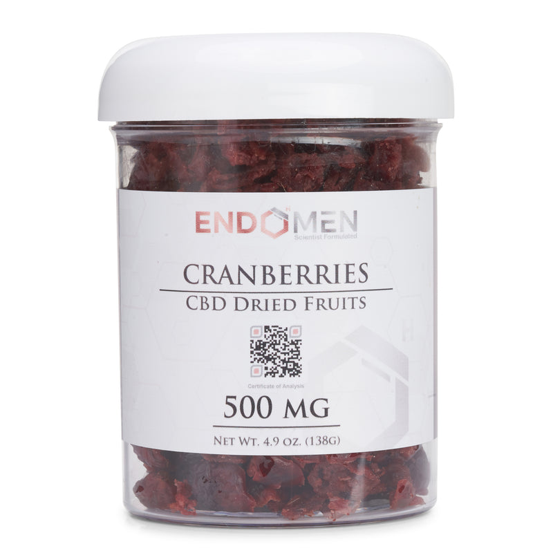 Hemp Derived CBD Cranberries 500mg