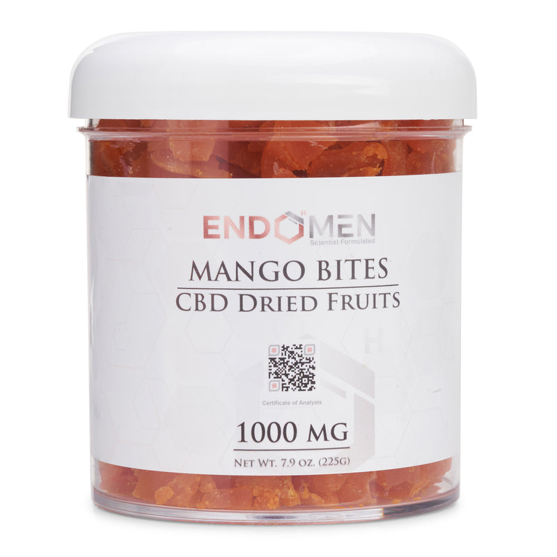 Hemp Derived CBD Mango Bits 1000mg