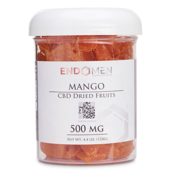 Hemp Derived CBD Mango Bits 500mg