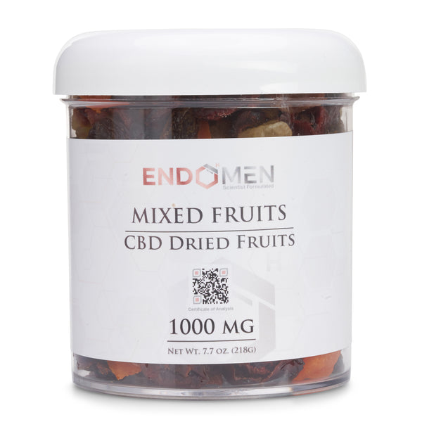 Hemp Derived CBD Mixed Fruits 1000mg