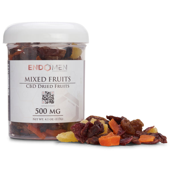 Hemp Derived CBD Mixed Fruits 500mg Wide