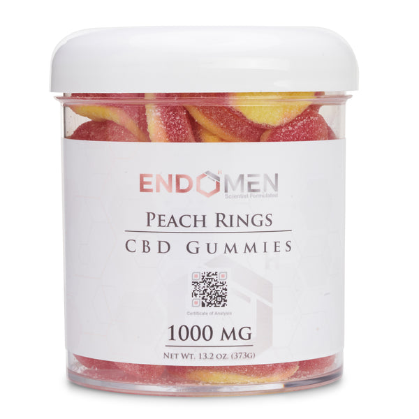 EndoMen CBD Peach Rings 1000mg