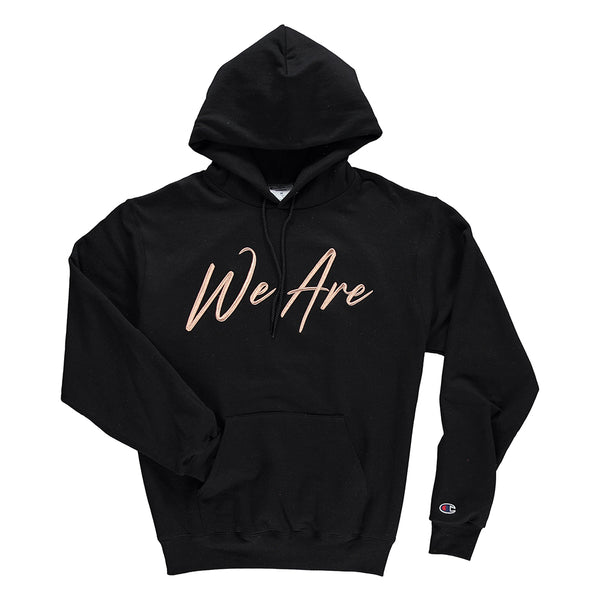 EndoMen We Are in Rose Gold Black Champion Hoodie