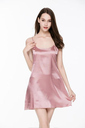 2016 Fashion Summer Sleepwear Women Night Dress Indoor Clothing Plus Size Silkintotham-intotham