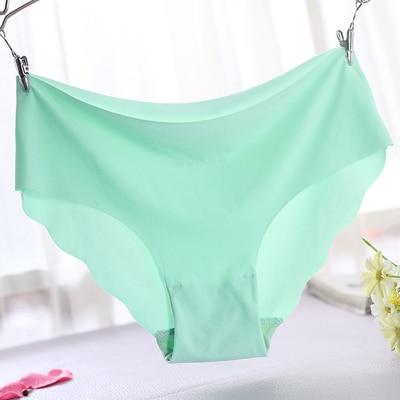 High Quality Plus Size Underwear Women Briefs Smooth Seamless Sexy Pantiesintotham-intotham