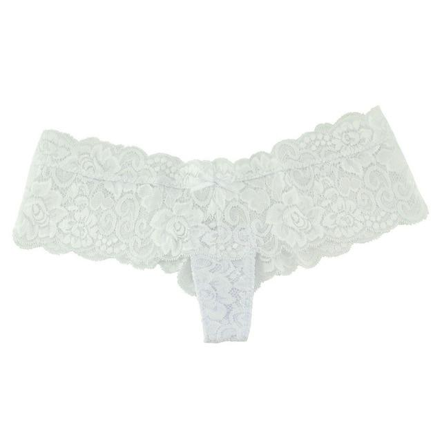 Hot Sexy Lace Panties Boyshorts Underwear Women Shorts G String Bikini Thongintotham-intotham