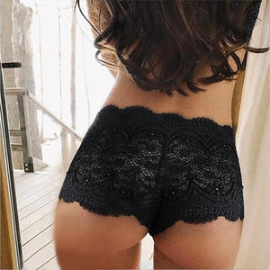 plus size sexy panties women floral lace transparent panties sexy underwear womenintotham-intotham